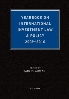 Yearbook on International Investment Law & Policy 9780199767014