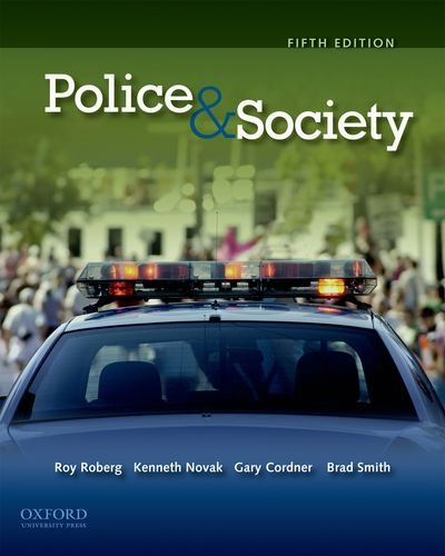 Police & Society [With CDROM] 9780199772568