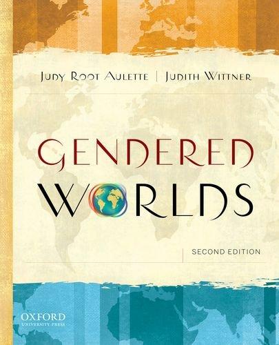 Gendered Worlds 9780199774043