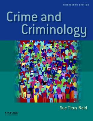 Crime and Criminology 9780199783182