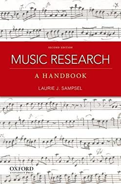 Music Research: A Handbook 9780199797127