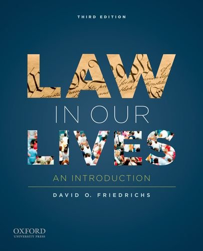 Law in Our Lives: An Introduction 9780199840748