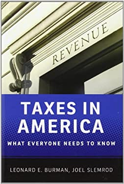 Taxes in America: What Everyone Needs to Know 9780199890262