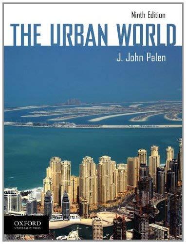 The Urban World 9780199946044