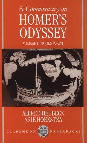 A Commentary on Homer's Odyssey: Volume II: Books IX-XVI