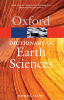 A Dictionary of Earth Sciences 9780199211944