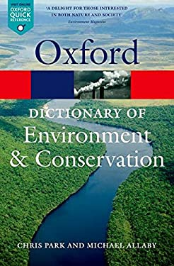 A Dictionary of Environment and Conservation 9780199641666
