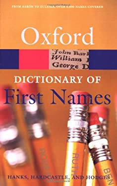 A Dictionary of First Names 9780198610601