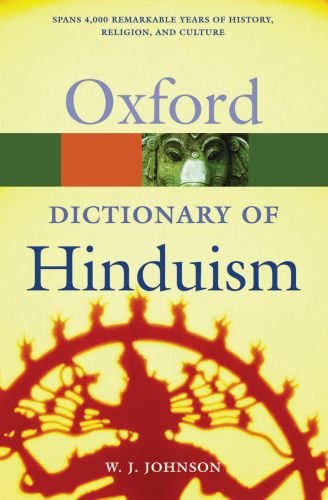 A Dictionary of Hinduism 9780198610267
