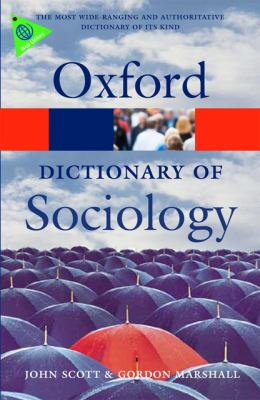 A Dictionary of Sociology 9780199533008
