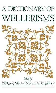 A Dictionary of Wellerisms 9780195083187