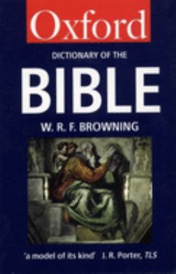 A Dictionary of the Bible 9780192800602