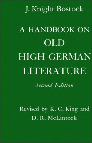 A Handbook on Old High German Literature 9780198153924