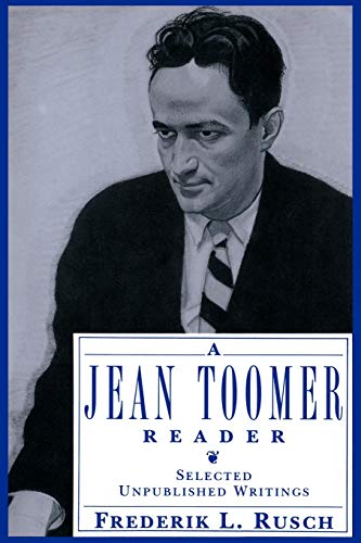 A Jean Toomer Reader: Selected Unpublished Writings 9780195083293