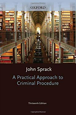 A Practical Approach to Criminal Procedure 9780199586004