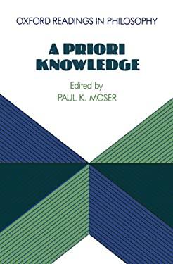 A Priori Knowledge 9780198750833