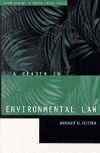 A Reader in Environmental Law 9780198765493