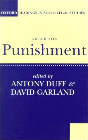 A Reader on Punishment 9780198763536