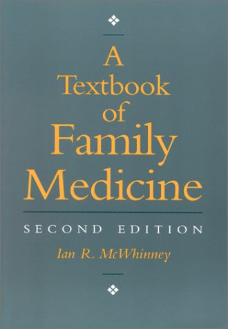 A Textbook of Family Medicine 9780195115185
