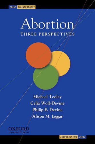 Abortion: Three Perspectives 9780195308952