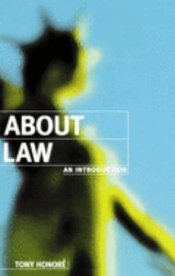 About Law: An Introduction 9780198763888