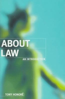 About Law: An Introduction 9780198763871