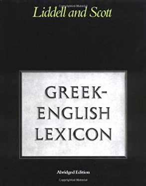 Abridged Greek-English Lexicon 9780199102075