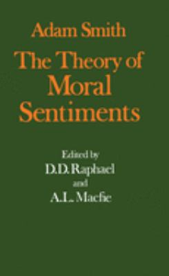 Adam Smith: The Theory of Moral Sentiments 9780198281894