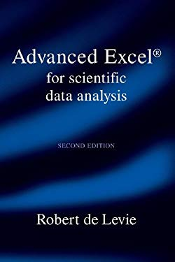 Advanced Excel for Scientific Data Analysis 9780195370225