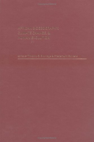 African Biogeography, Climate Change, and Human Evolution 9780195114379