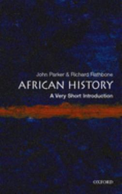 African History: A Very Short Introduction 9780192802484