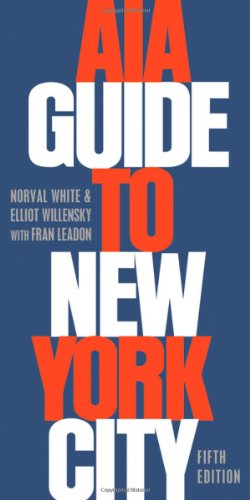 AIA Guide to New York City 9780195383867