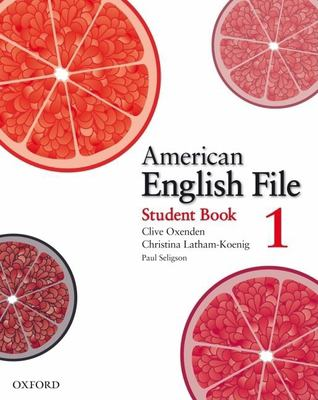 American English File 1 Student Book 9780194774161