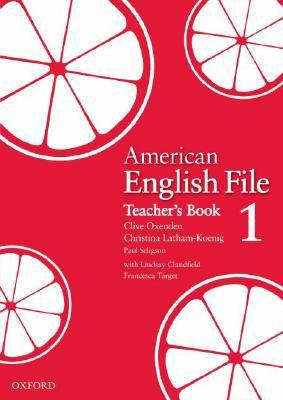 American English File 1 Teacher's Book 9780194774178