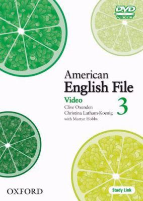 American English File 3 DVD 9780194774635