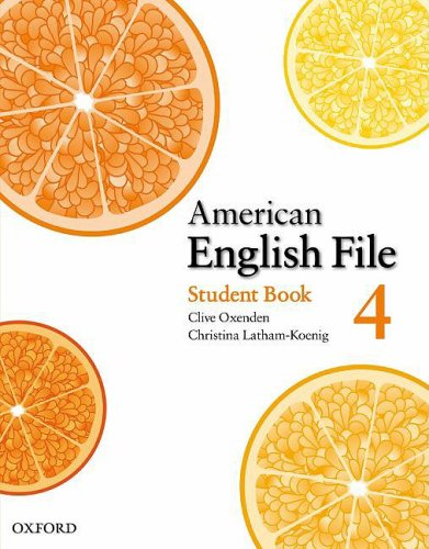 American English File 4 Student Book 9780194774642