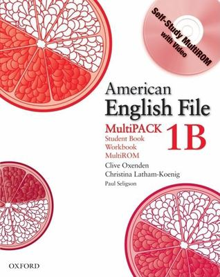 American English File Level 1 Student and Workbook Multipack B 9780194774253