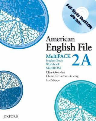 American English File, MultiPACK 2A [With CDROM]