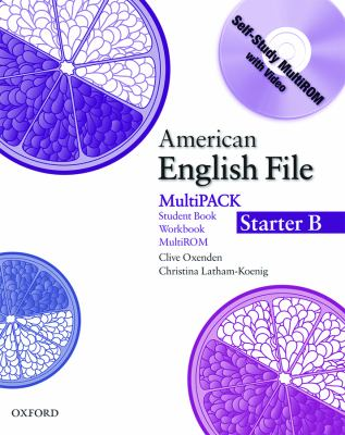 American English File Starter: Student Book/Work Book Multipack B 9780194774093