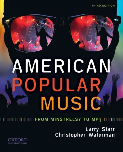 American Popular Music: From Minstrelsy to MP3 [With CD (Audio)] 9780195396300