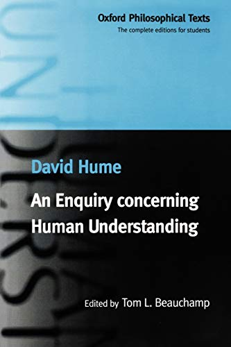 An Enquiry Concerning Human Understanding 9780198752486