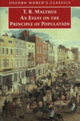 An Essay on the Principle of Population 9780192837479