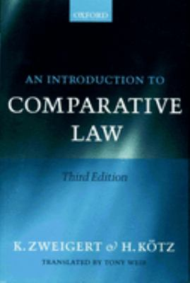 An Introduction to Comparative Law 9780198268598