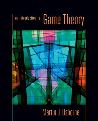 An Introduction to Game Theory 9780195128956