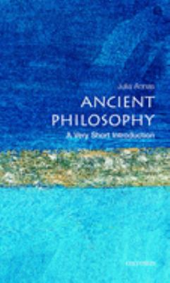 Ancient Philosophy: A Very Short Introduction 9780192853578