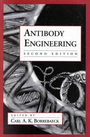 Antibody Engineering 9780195091502
