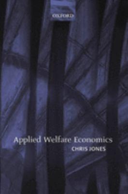 Applied Welfare Economics 9780199281978