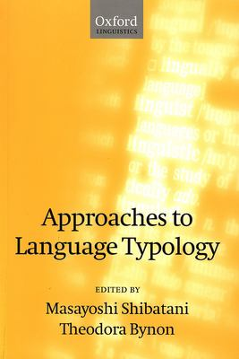 Approaches to Language Typology