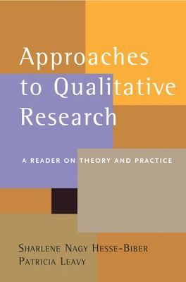 Approaches to Qualitative Research: A Reader on Theory and Practice 9780195157758