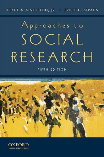 Approaches to Social Research 9780195372984